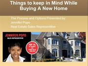 Things Keep in Mind When Buying a New Home