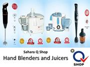 Sahara Q Shop Hand Blenders and Juicers