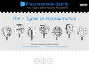 7 Types of Procrastinators [Cartoonographic Presentation]