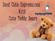 Cute Valentine Stuffed Animals Delivery