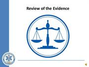 Evidence Review