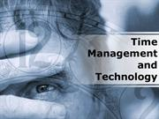 Time Management & Technology PowerPoint Content