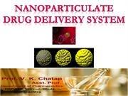 NANOPARTICULATE DRUG DELIVERY SYSYTEM CHATAP