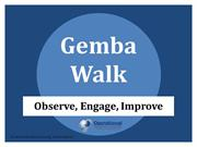 Gemba Walk by Operational Excellence Consulting