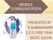 MOBILE COMMUNICATION TECHNOLOGY