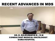 RECENT ADVANCES IN MDS