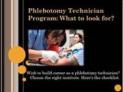 Phlebotomy Technician Program_FVI