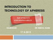 7 apheresis equipments