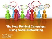 The New Campaign-Using Social Networking