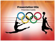 Olympic Powerpoint Template - Slide world