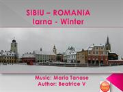 SIBIU – ROMANIA-Winter