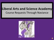 Course Requests Through Naviance
