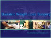Types of Bariatric Weight Loss Surgery