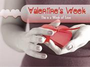 Valentine's Week : A week of Love