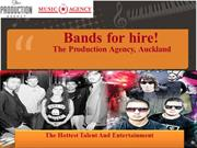 Bands for hire!