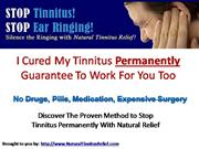 Four Effective Natural Tinnitus Relief