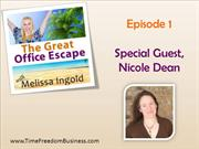 Time Freedom Business: How Nicole Dean Got Her Productivity Mojo Back