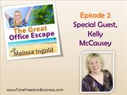 Time Freedom Business: How Kelly McCausey Travels & Grows a Business