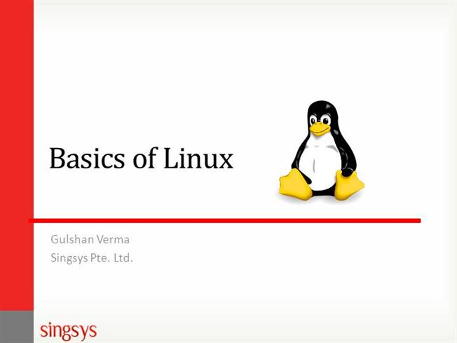 Basics of linux authorstream toneelgroepblik Image collections