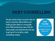 Debt Counselling/ debt review