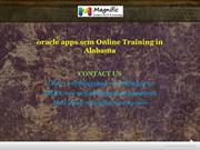 oracle apps scm Online Training in Alabama