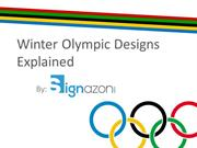 Winter Olympic Designs Explained