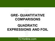 3-Algebra - Quadratic Equations