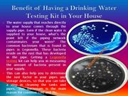 Drinking Water Testing Kits