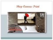 Photography and Artistic Recreation on Canvas Prints