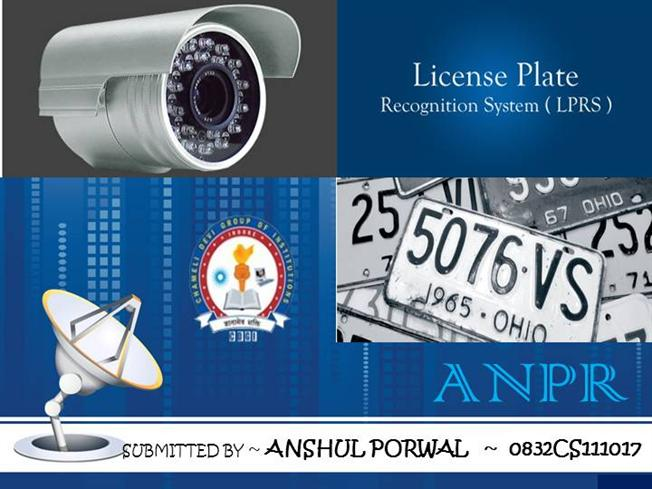 Dissertation Of Car License Plate Recognition