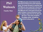 Phil Walnock - Family Man