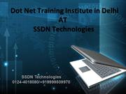 Dot Net Training Institute In Delhi