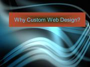 Why Custom Web Design?