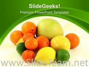 FRESH FRUITS HEALTH POWERPOINT BACKGROUND