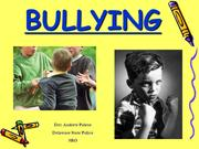 Bullying a ppt from the internet