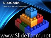 LEGO BLOCKS TEAMWORK POWERPOINT BACKGROUND