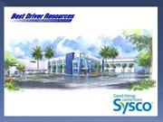 Sysco DVD Orientation Best Driver Resources