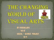The changing world of visual arts