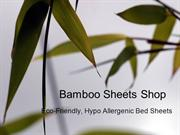 Buy bamboo sheets set from Bamboo Sheets Shop