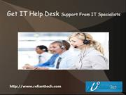 Get IT Help Desk Support From IT Specialists