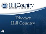 Discover Hill Country Christian School (2014)
