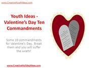 Youth Ideas - Valentine's Day Ten Commandments