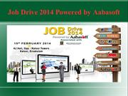Job Drive 2014 | Aabasoft  | Job Fair 2014