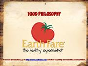 Earth Fare's Product Philosophy
