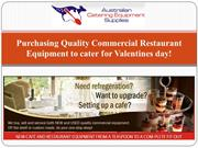 Purchasing Quality Commercial Restaurant Equipment