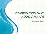 CONSTIPACION EN EL ADULTO MAYOR