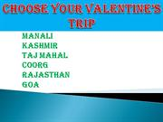 Top 5 Valentine's places in india
