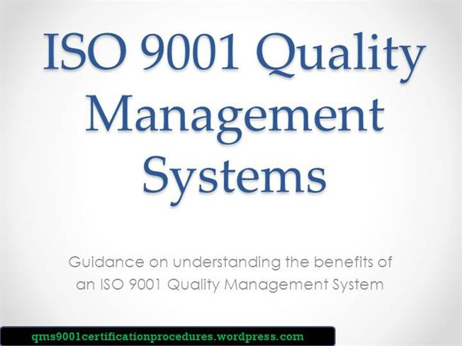 ISO 9001 Quality Management System Guide |authorSTREAM