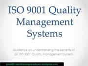 ISO 9001 quality management system guide