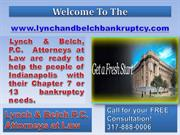 Bankruptcy Attorney Indianapolis- Foreclosure Attorney